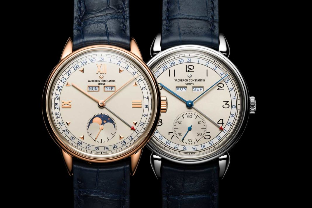 The new for 2017 Vacheron Constantin Historiques Triple calendrier 1942 and the Historiques Triple calendrier 1948 watches