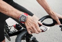 Alain Prost wearing the RM 70-01 Tourbillon Alain Prost