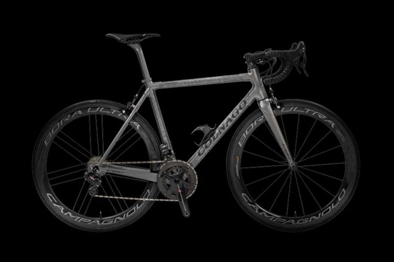 C-6 bicycle entirely hand-crafted in Cambagio by the artisans of Colnago