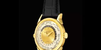 Ref. 2523 Patek Philippe two-crown world time (Image: PhillipsWatches.com)