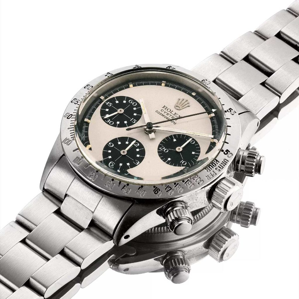 Panda dial Rolex Paul Newman Daytona ref. 6265 (Image: PhillipsWatches.com)