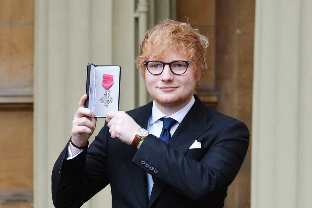 Ed Sheeran wearing the Patek Philippe ref. 5130 World Time