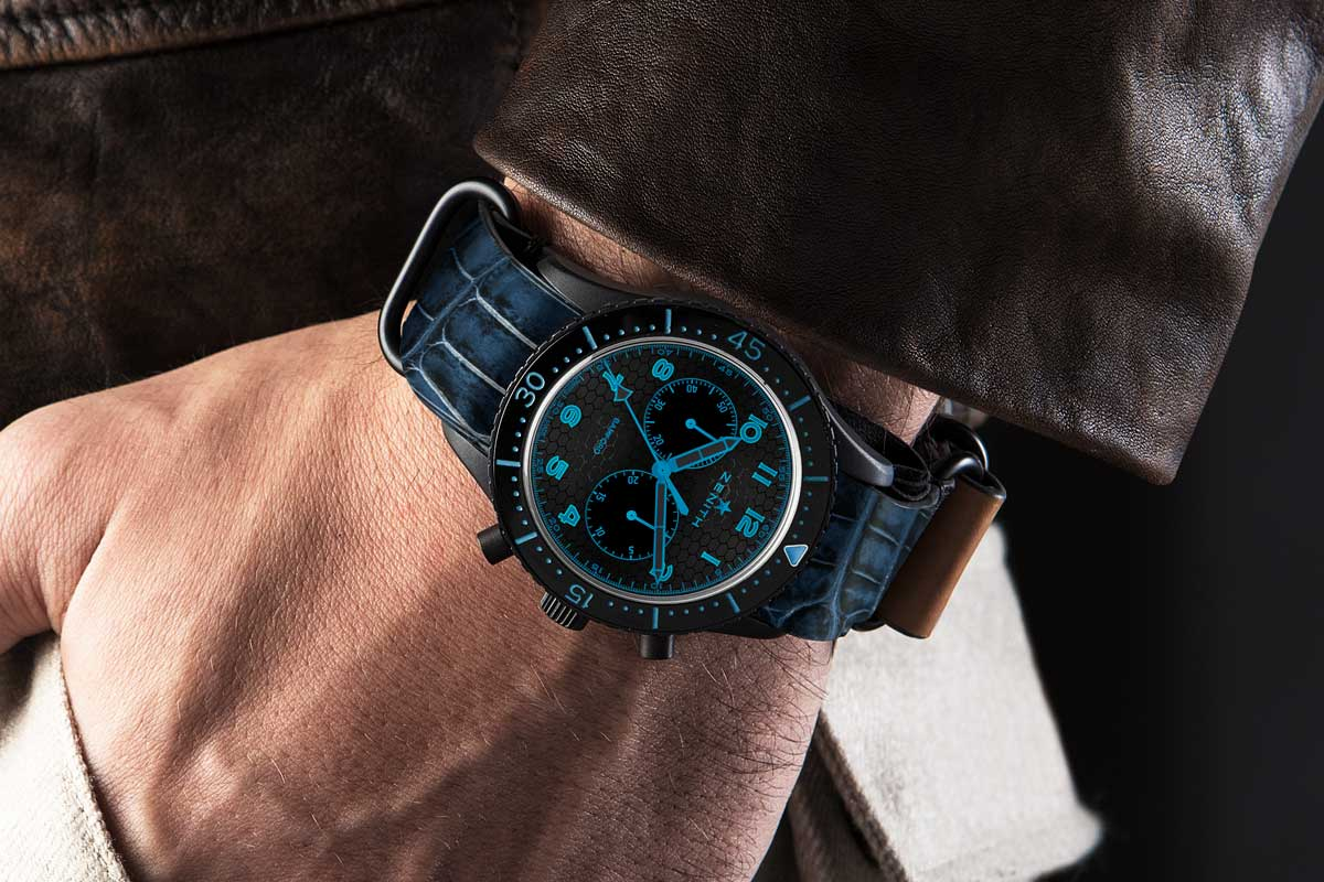 The Bamford x Revolution Zenith TIPO CP2 Blue (Image © Revolution)