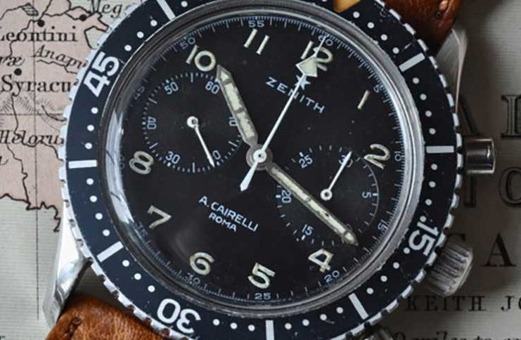 The Zenith A. Cairelli CP-2 chronograph (Image courtesy of Watchuseek member, MMMD)
