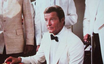 A fake Fabergé egg, and a fellow agent's death, lead James Bond (Roger Moore) to uncover an international jewel-smuggling operation in Octopussy (1983)