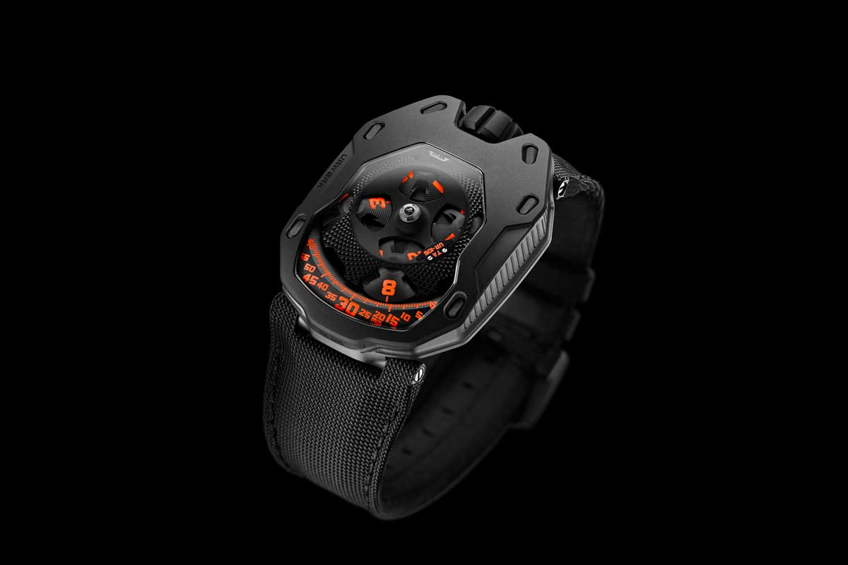 "The UR-105 TA ""Clockwork Orange"" was a Basel 2016 introduction"