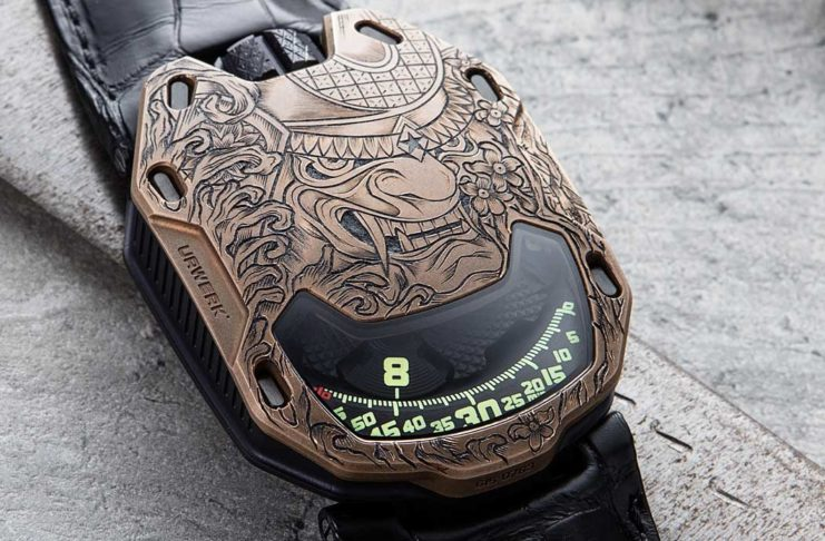 Introducing the URWERK X Revolution UR-105 Bronze Samurai