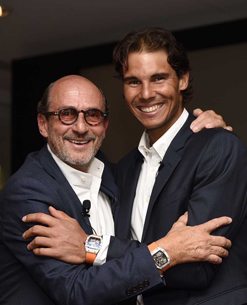Richard Mille and Nadal wearing the RM 027-02