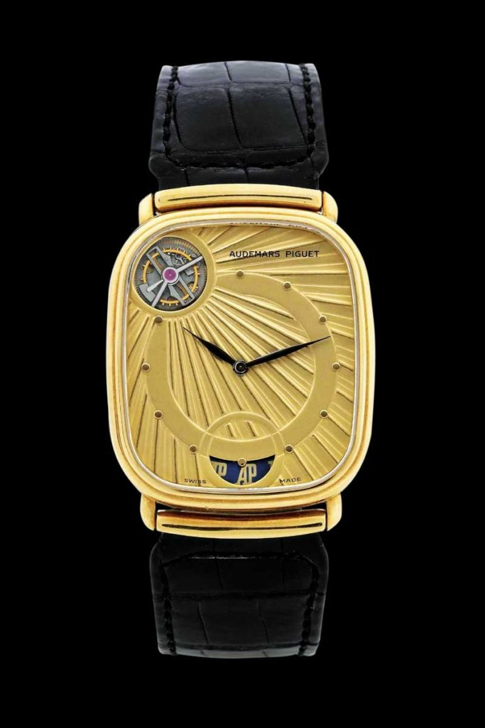 1986 Audemars Piguet Ra Automatic Tourbillon (Image: Audemars Piguet Archives)