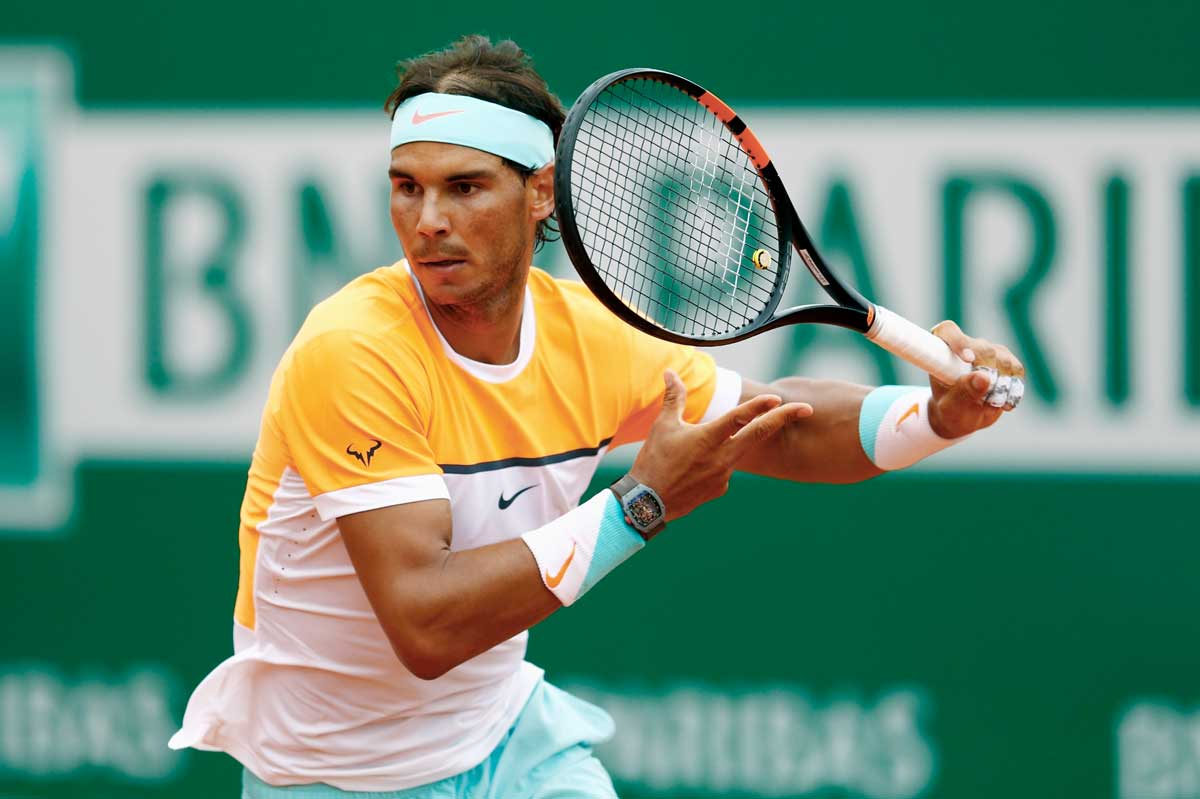 Every one of Rafael Nadal's victories in the last 8 years has been with a Richard Mille on his wrist