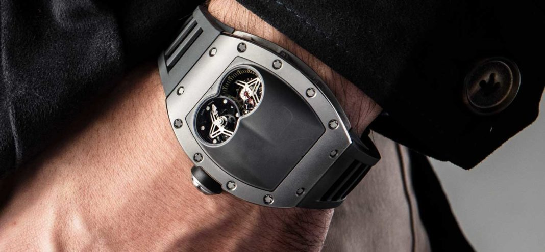 The RM 053 Tourbillon - Pablo Mac Donough on the wrist (Image © Revolution)