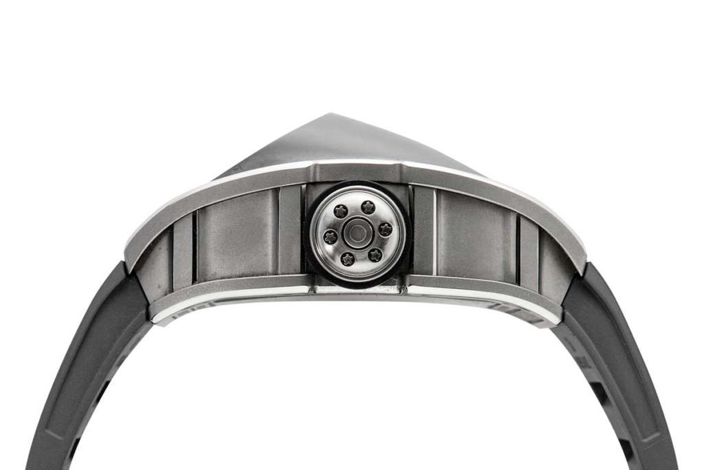 The titanium carbide canopy of the RM 053 Tourbillon - Pablo Mac Donough (Image © Revolution)