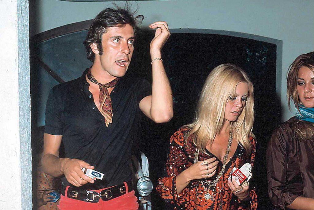 Stepping out for a smoke, Gigi Rizzi and Brigitte Bardot