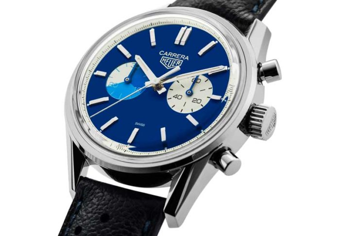"TAG Heuer x The Rake & Revolution ""Blue Dreamer"" Carrera Chronograph"