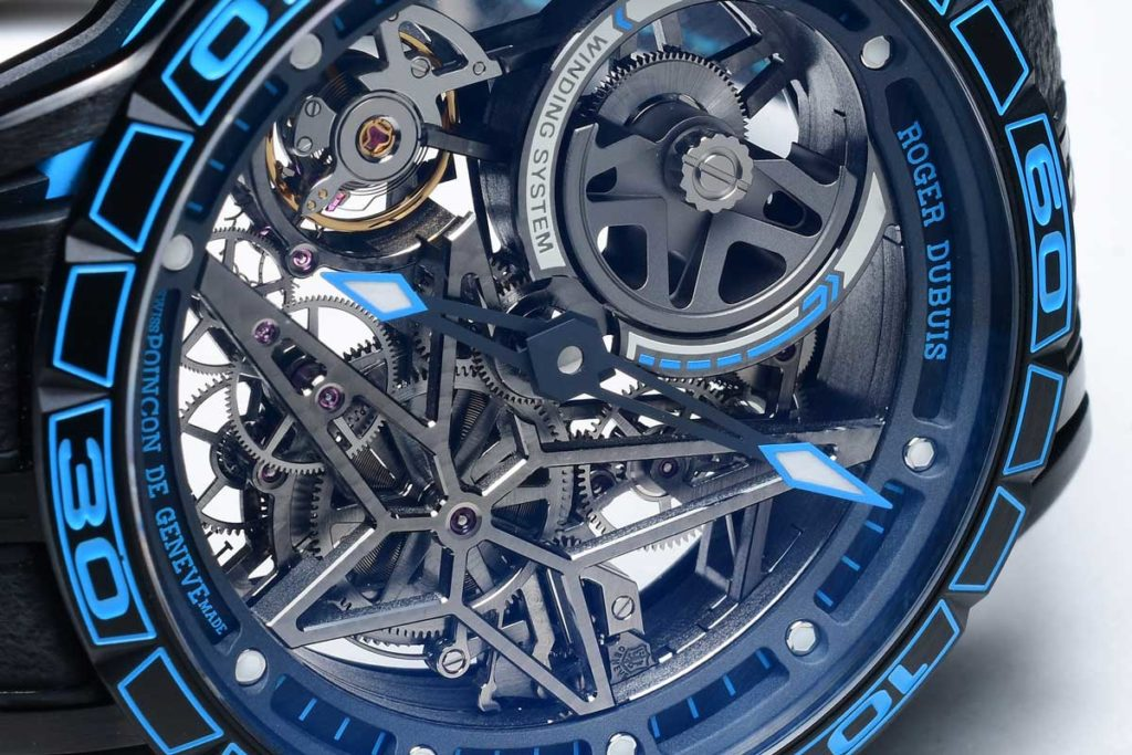 Roger Dubuis Excalibur Spider Pirelli – Automatic Skeleton (Image © Revolution)