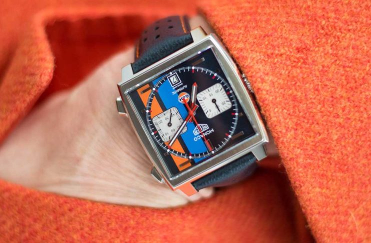 The TAG Heuer Monaco Gulf 2018 Special Edition (Image © Revolution)