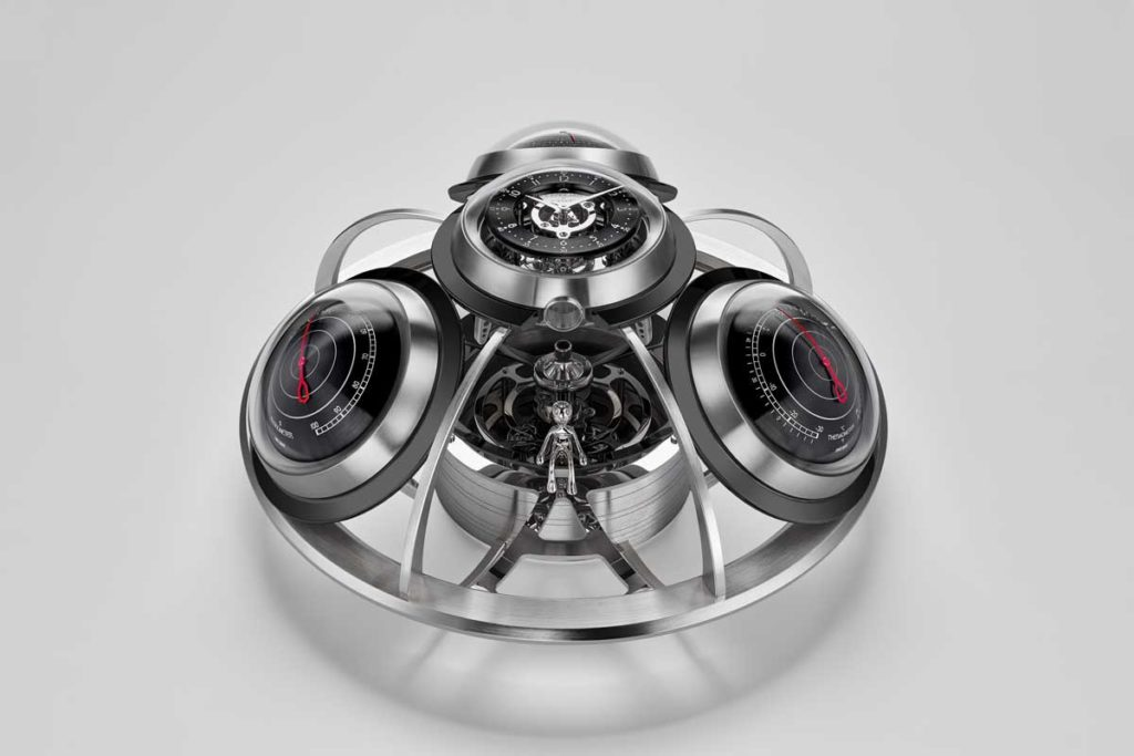 MB&F and L'Epée 1839's The Fifth Element in black