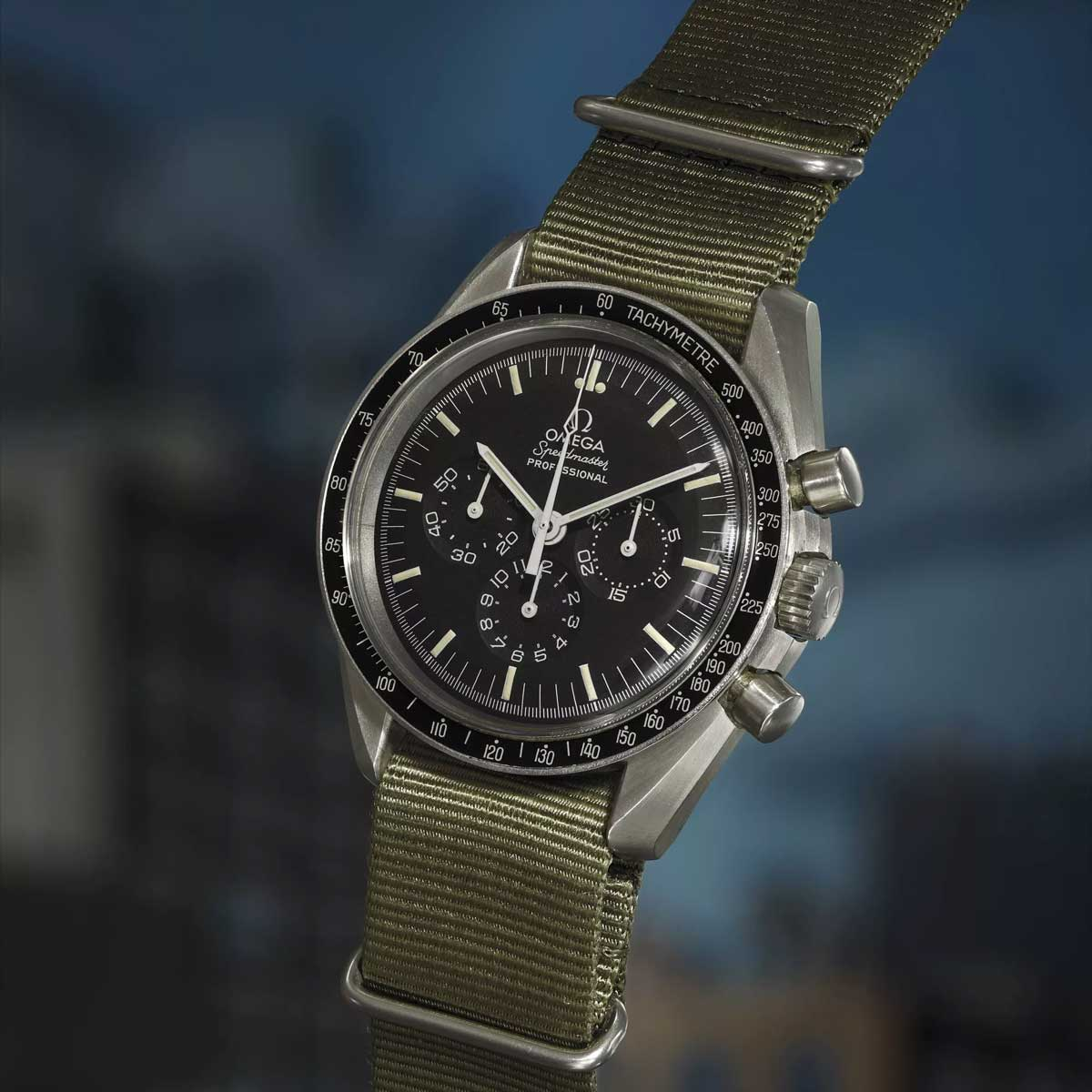 Omega Speedmaster 'Alaska III' Project ref. 145.022, sold with Phillips Watches at their inaugural New York sale, 26 October 2017 for US$187,500 (Image: phillipswatches.com)