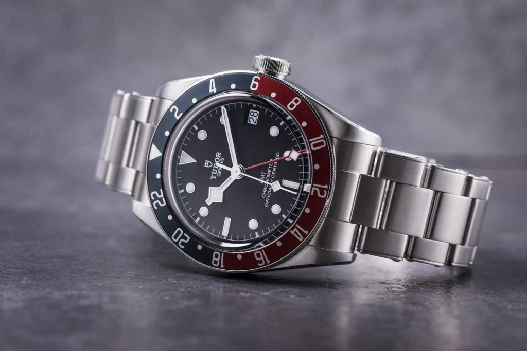 Newly unveiled at Baselworld 2018, the Tudor Black Bay GMT (© Revolution)