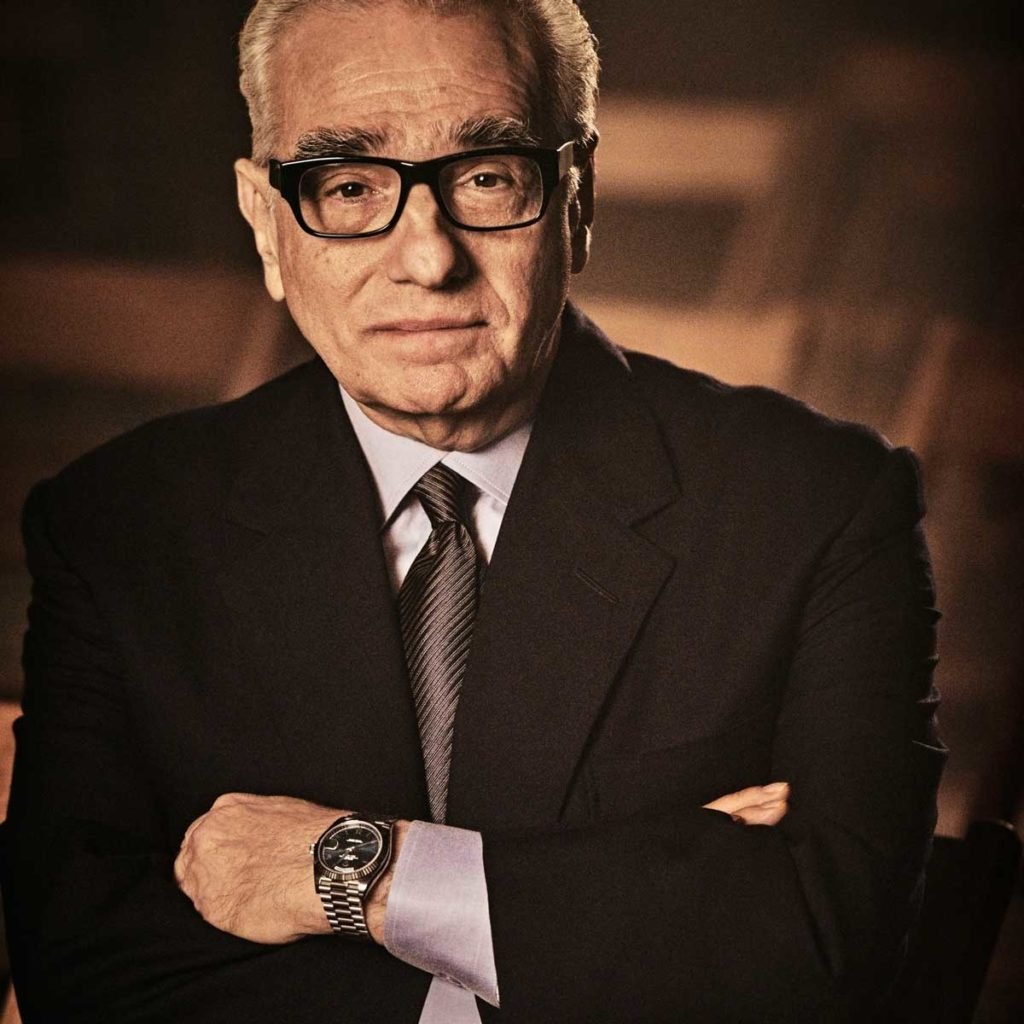 Rolex testimonee, American director, producer, screenwriter, and film historian, Martin Scorsese