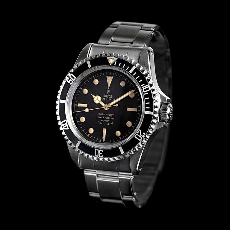 1959 Tudor Oyster Prince Submariner Square Crown Guards ref. 7928 (Image © Tudor)