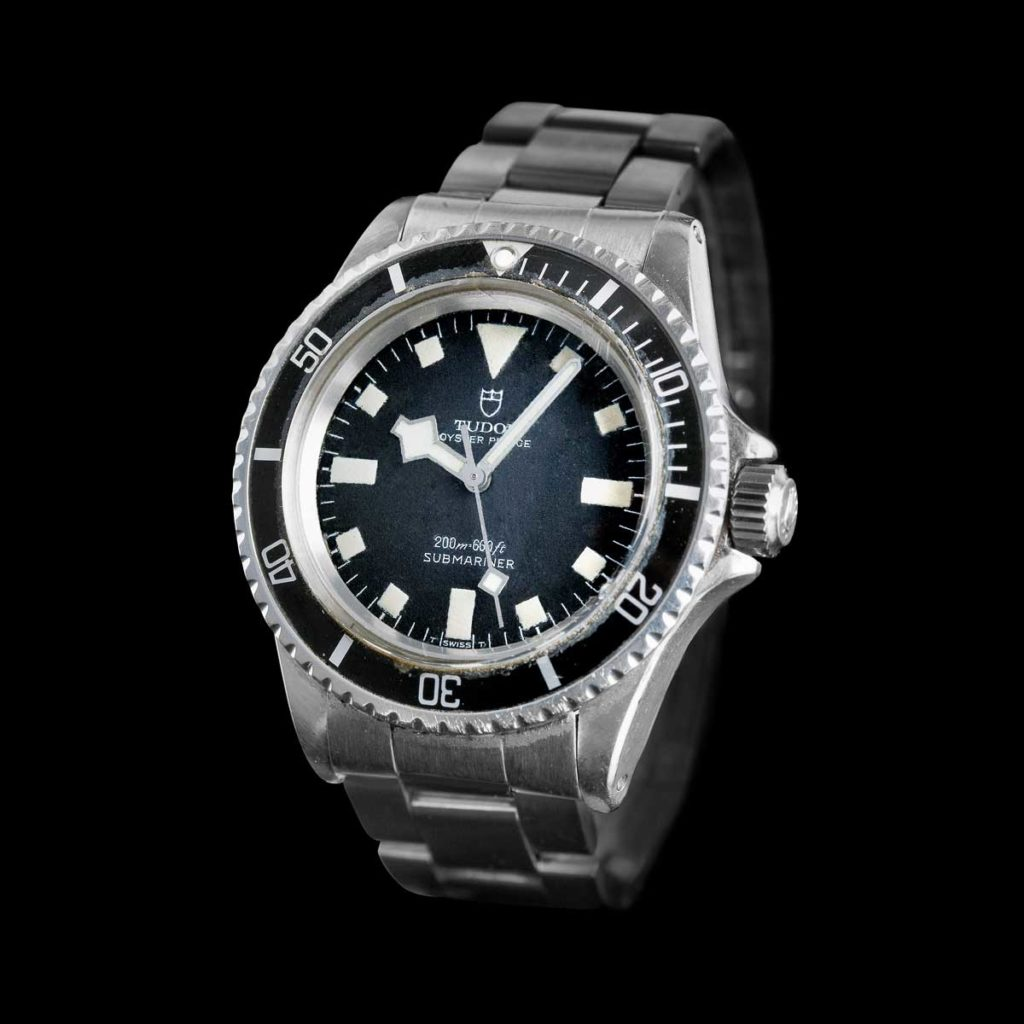 "A 1969 Tudor Oyster Prince Submariner with the iconic ""snowflake"" hands (Image © Tudor)"