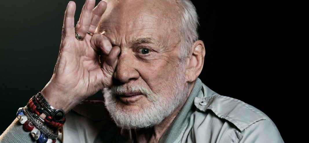 Flight Commander of the July 1969 Apollo 11 mission, astronaut and living legend, Buzz Aldrin (Portrait photography by Ben Harries)