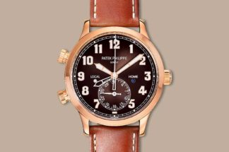 The 2018 Patek Philippe ref. 7234R Calatrava Pilot Travel Time (37.5mm)
