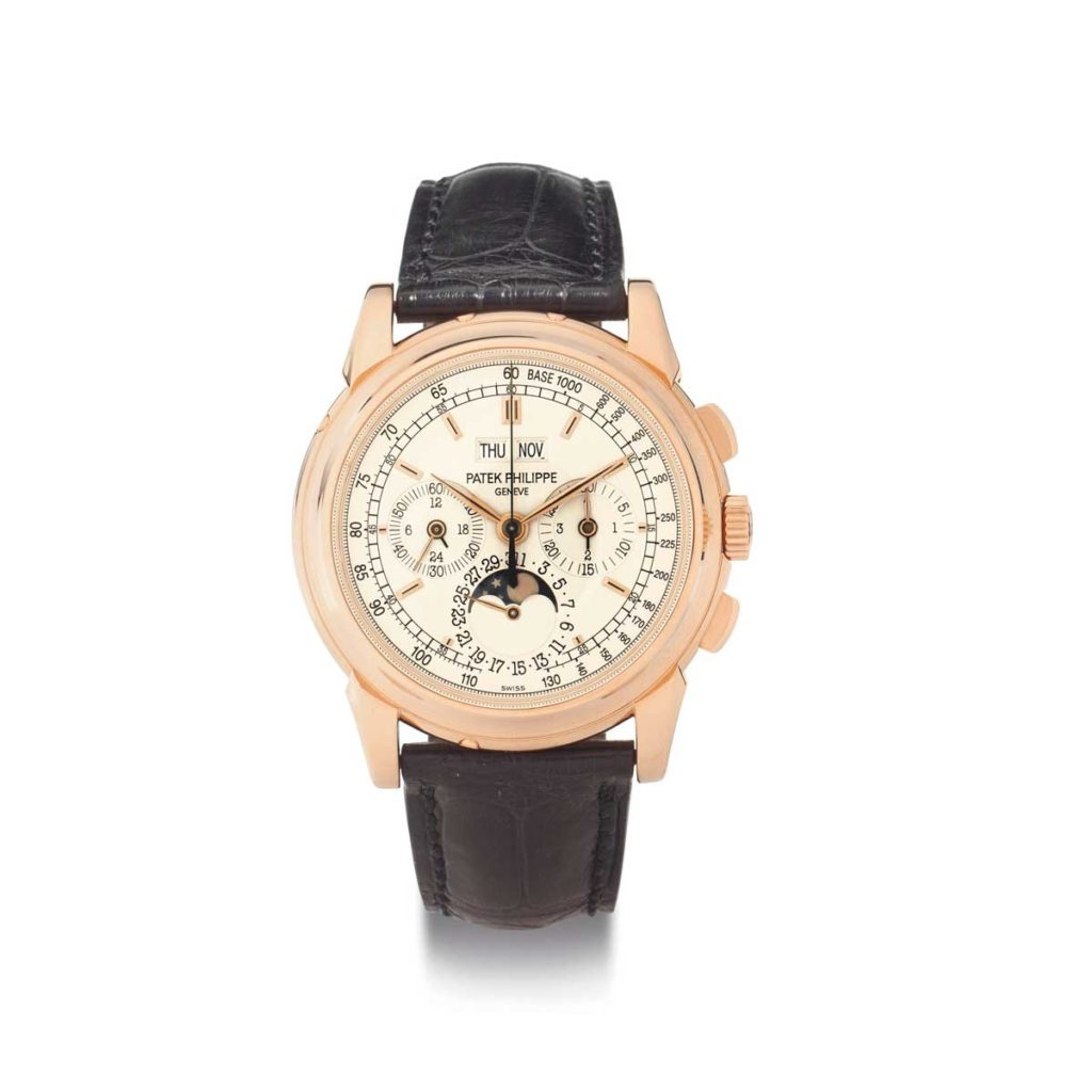 The Patek Philippe ref. 5970 in pink gold (Image: christies.com)