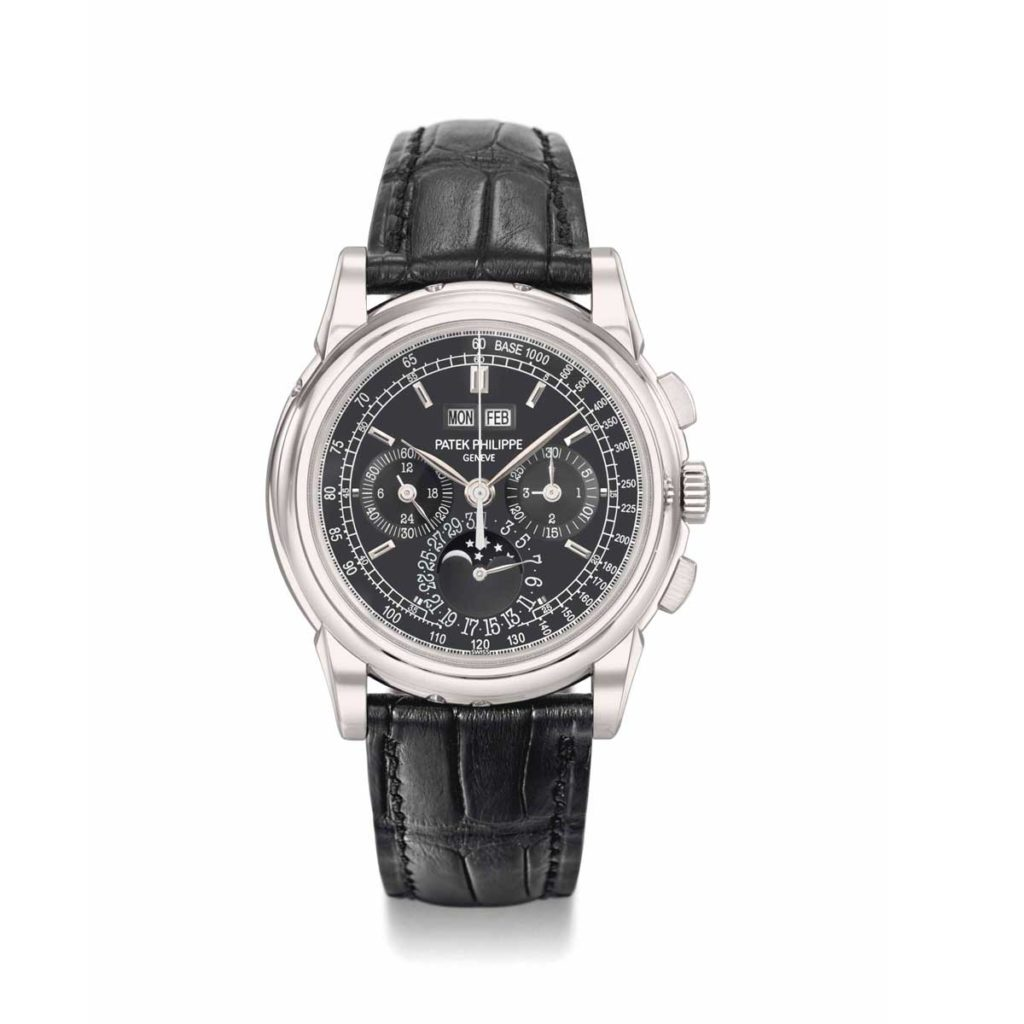 The Patek Philippe ref. 5970 in platinum (Image: christies.com)