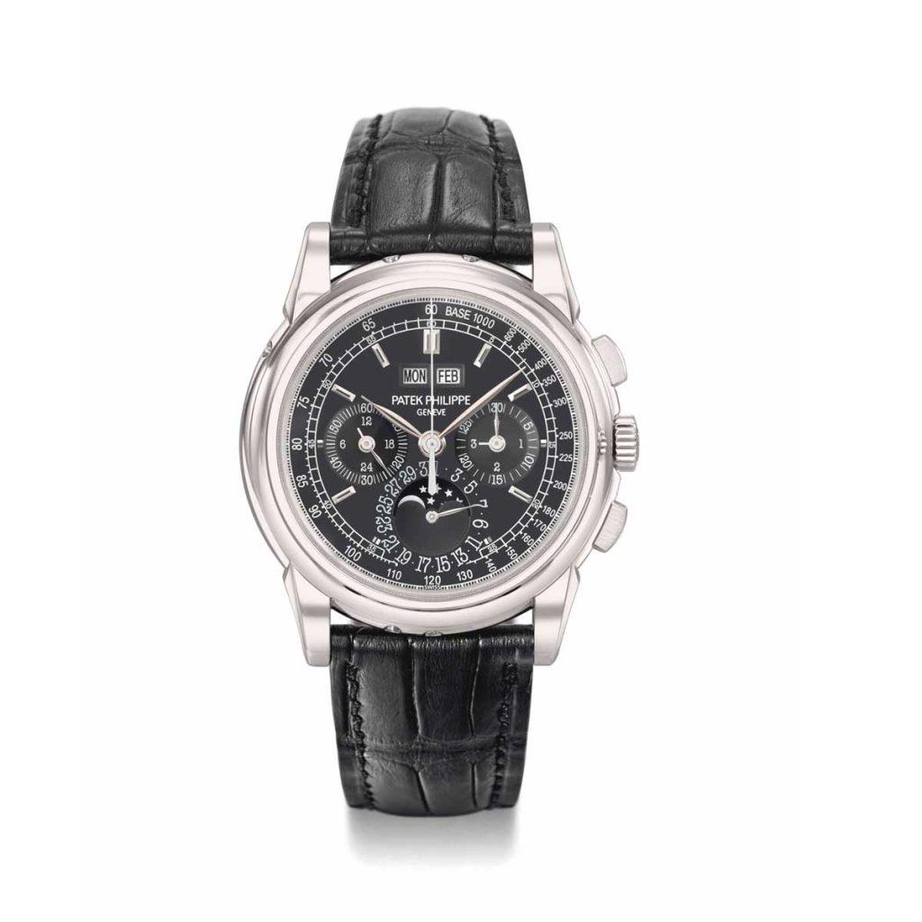 The Patek Philippe ref. 5970 in platinum (Image: christies.com)