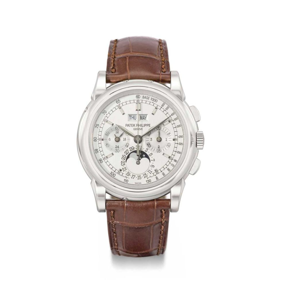 The Patek Philippe ref. 5970 in white gold (Image: christies.com)