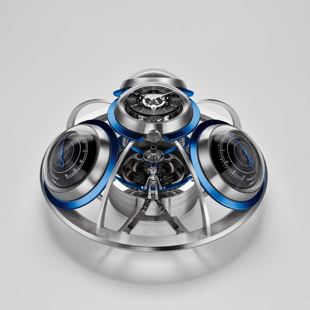 MB&F and L'Epée 1839's The Fifth Element in blue