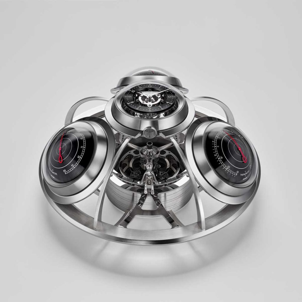 MB&F and L'Epée 1839's The Fifth Element in silver