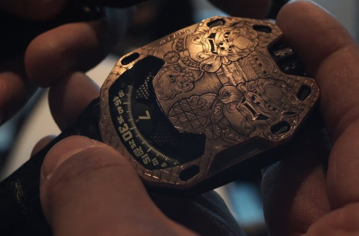 First Look: URWERK x Revolution at Baselworld 2018