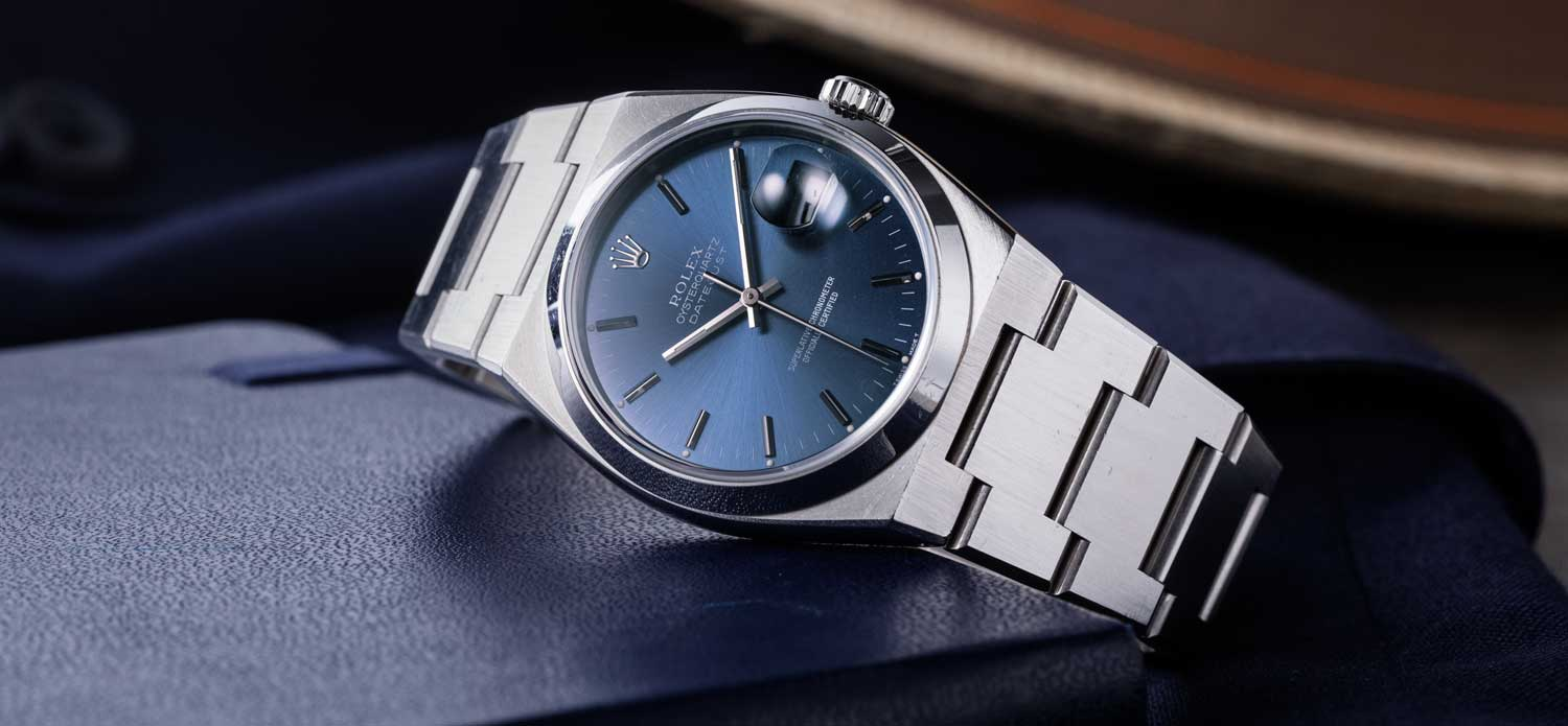 The Rolex Oysterquartz Datejust Ref. 17000 (© Revolution)
