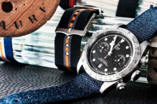 The Tudor Black Bay Chronograph at Julien Faure in Saint-Étienne, France (© Revolution)