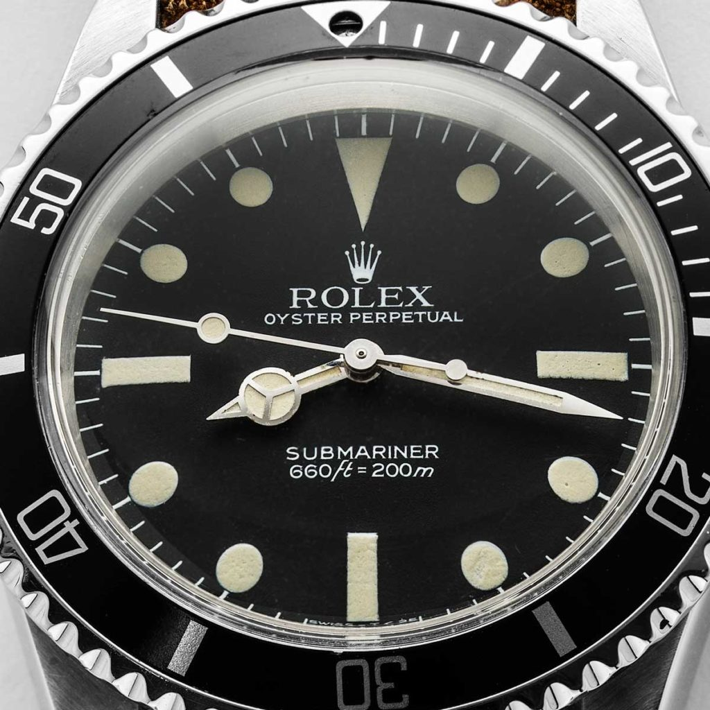 The Rolex Submariner 5513 MAXI Dial MK V (© Revolution)