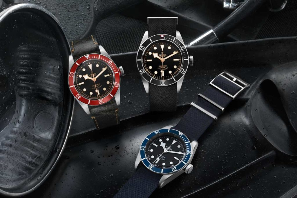 In October of 2015, the Heritage Black Bay turned into a trio with the addition of the black bezel Black Bay