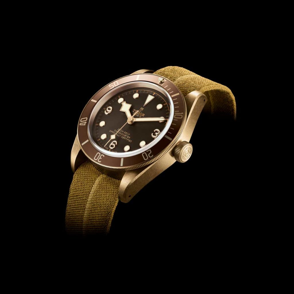 The phenomenal Black Bay Bronze that was introduced at Baselworld 2016