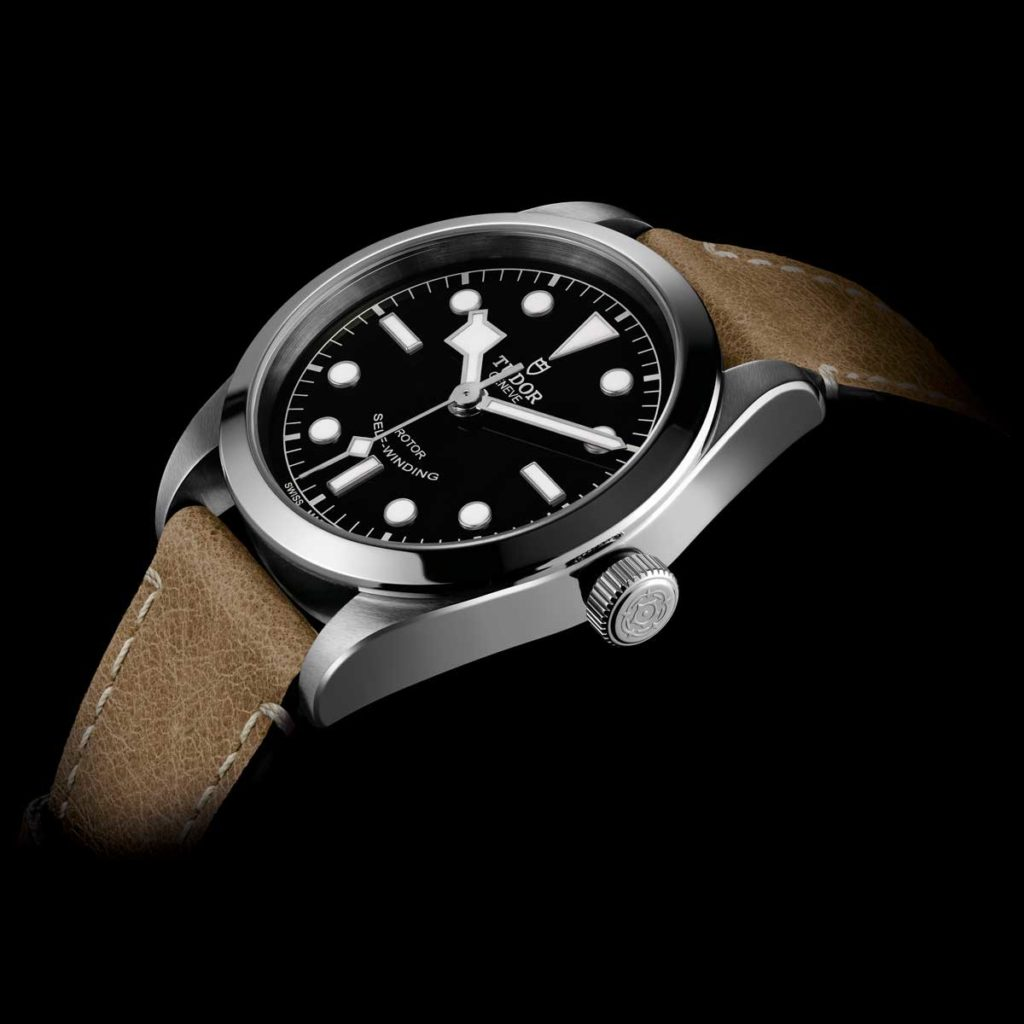 The bezel-less Black Bay 36 unveiled at Baselworld 2016