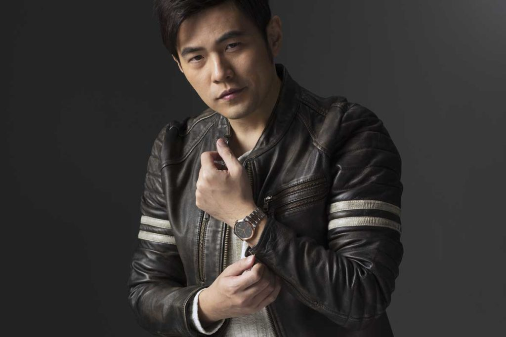 Mandarin pop music super star, Jay Chou wearing the 2018 1926 in a two-tone variation
