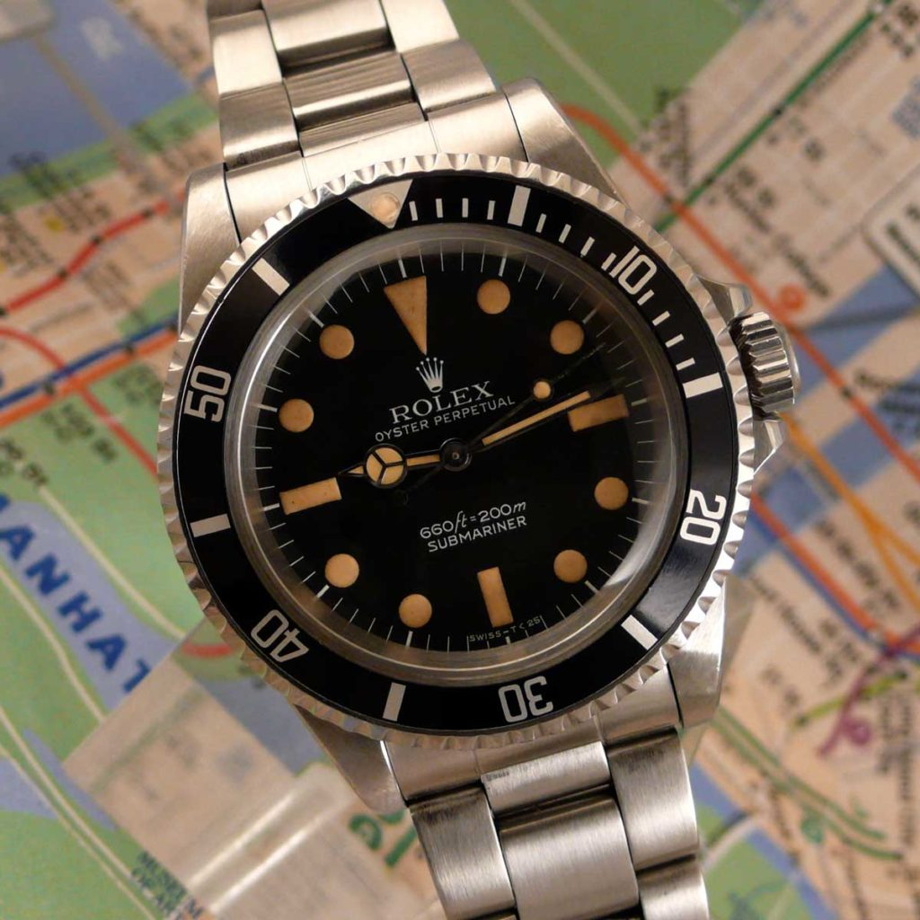 The Rolex Submariner 5513 MAXI Dial MK I (Image: sheartime.com)