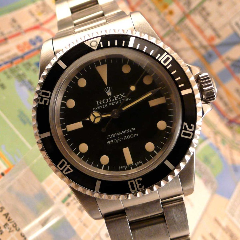 The Rolex Submariner 5513 MAXI Dial MK II (Image: sheartime.com)