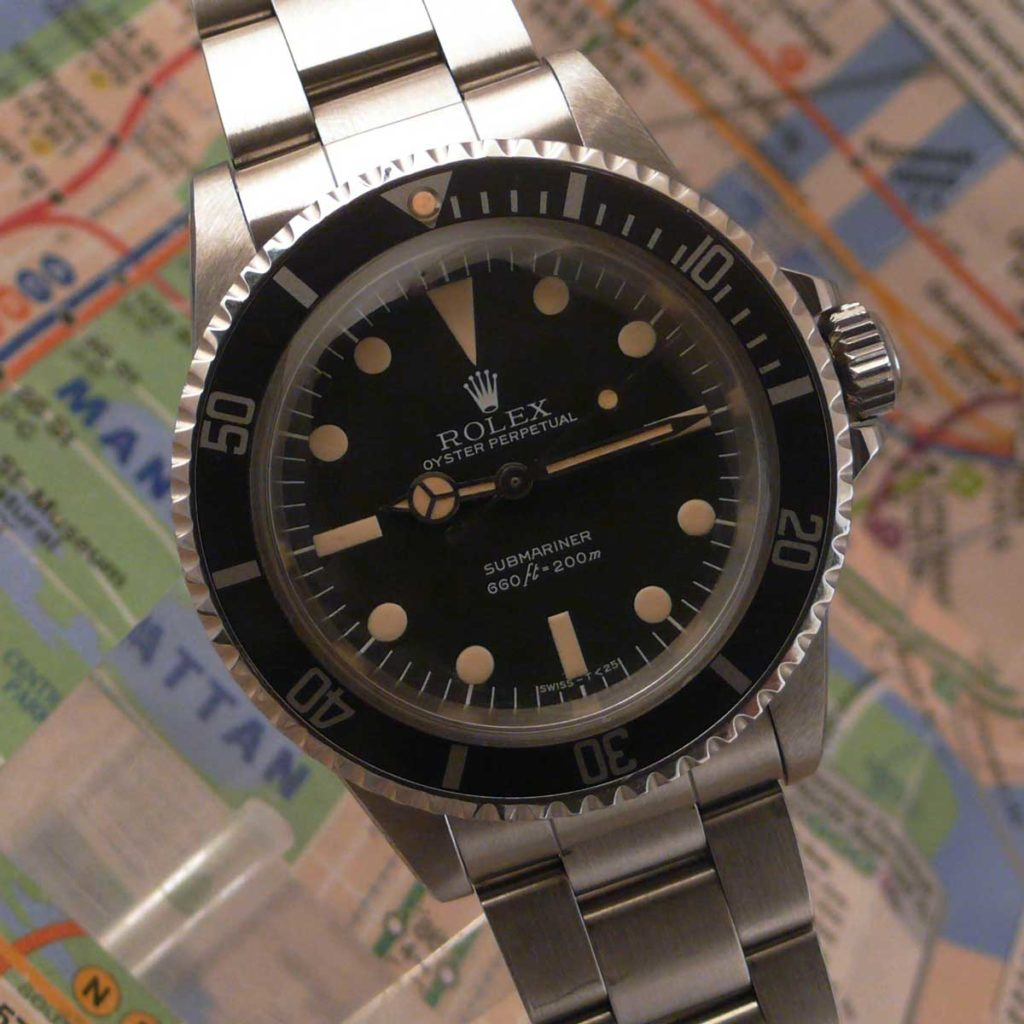 The Rolex Submariner 5513 MAXI Dial MK III (Image: sheartime.com)