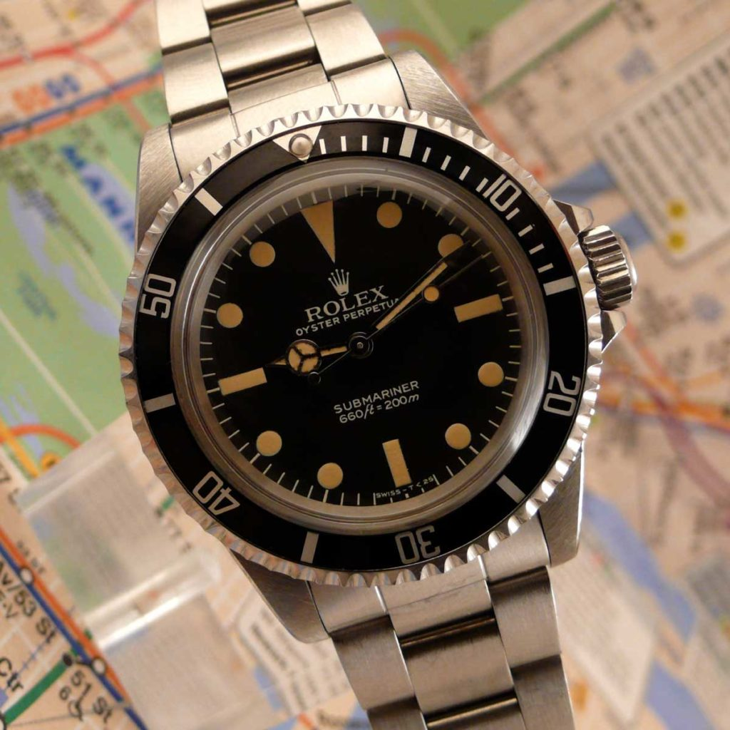 The Rolex Submariner 5513 MAXI Dial MK IV (Image: sheartime.com)