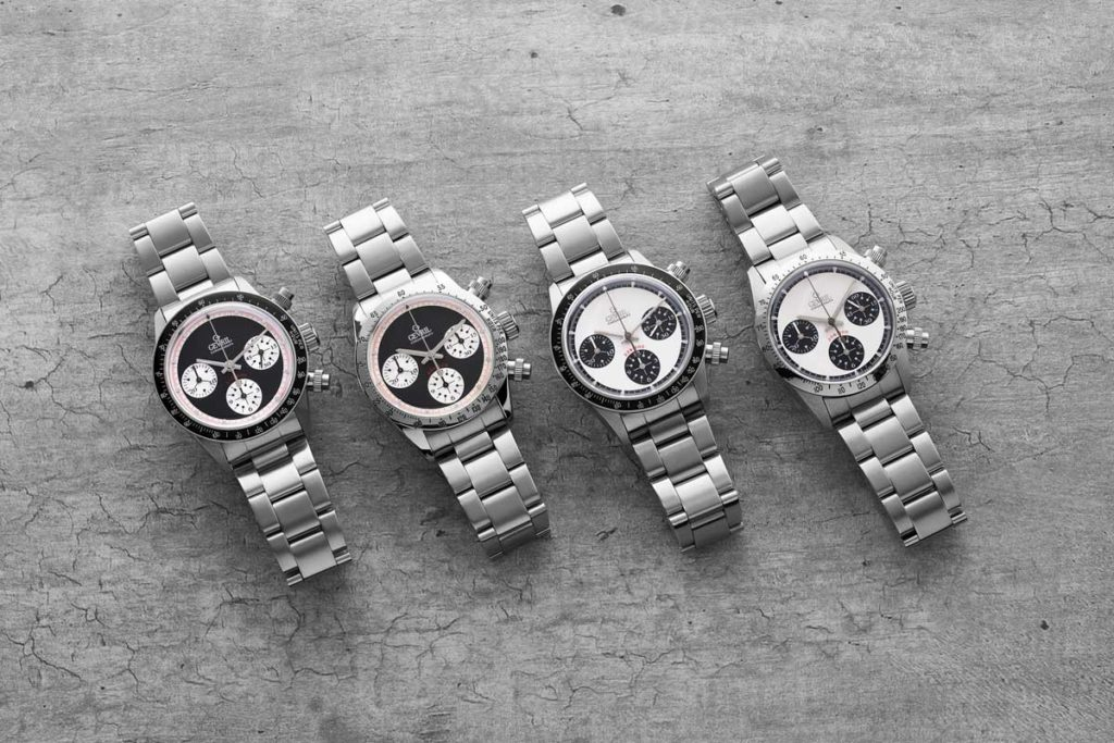 "The Gevril Tribeca — Tribute to Rolex ""Paul Newman"" Daytona"