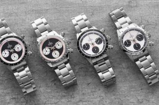 "The Gevril Tribeca — Tribute to Rolex ""Paul Newman"" Daytona (© Revolution)"