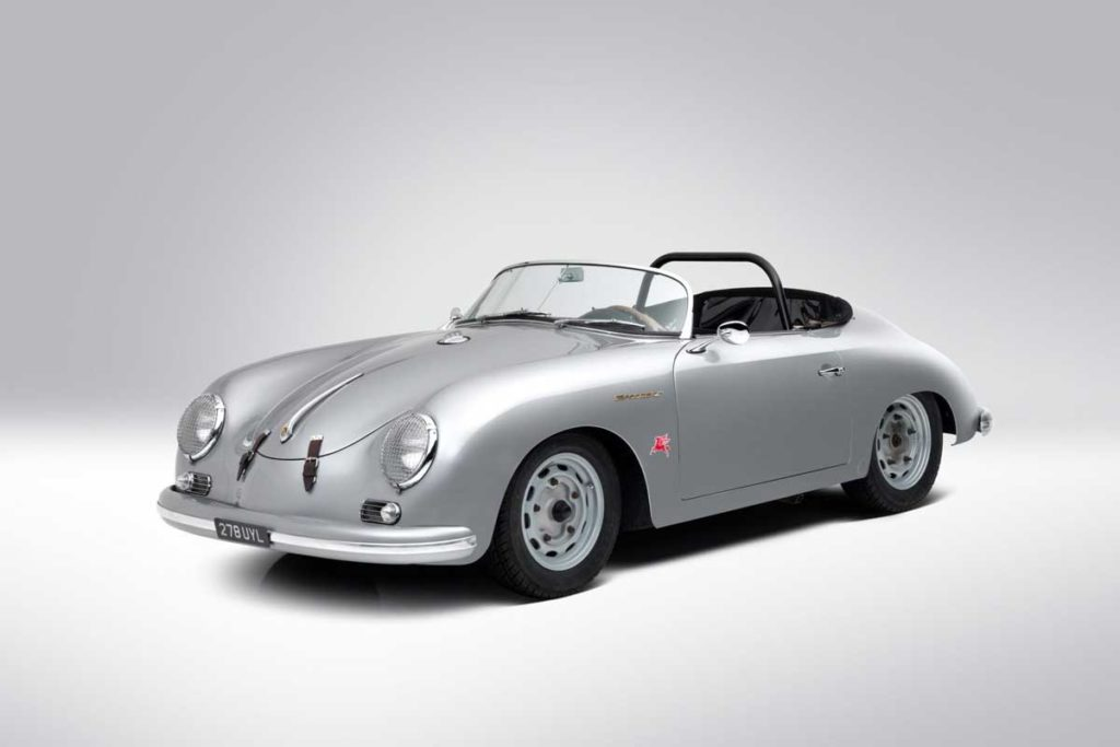 The choice of the sultans of cool, like James Dean and Steve McQueen, the Porsche 356 Speedster is an enduring of rebellion and freedom