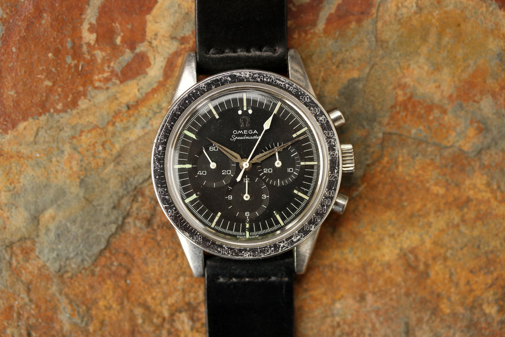 1962 Reference ST 105.002 seen here with Alpha hands — A Transitional Reference (Image: lunaroyster.com)